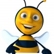 Cartoon bee — Stock Photo #4362804