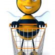 Cartoon bee - Photo