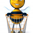 Royalty-Free Stock Photo: Cartoon bee