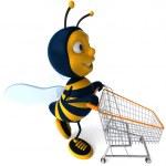 Cartoon bee — Stock Photo #4362897