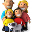 Family 3d illustration — Stock Photo #4364379