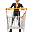 Royalty-Free Stock Photo: Business man 3d illustration
