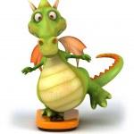 Dragon 3d illustration — Stock Photo #4369381