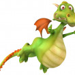 Dragon 3d illustration — Stock Photo