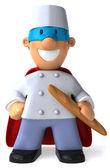 Chef illustration 3D — Stock Photo