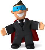 Superhero 3d animation — Stock Photo
