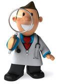 医師の 3 d イラストレーション — ストック写真