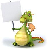 ドラゴンの 3 d イラストレーション — ストック写真