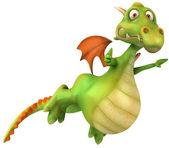 Illustrazione 3d drago — Foto Stock