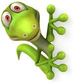 Ilustración 3d lagarto — Foto de Stock