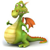 Dragon — Foto de Stock