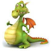 ドラゴン — ストック写真