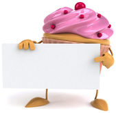 Cupcake — ストック写真