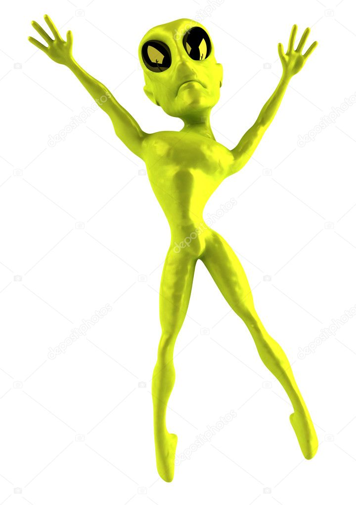Alien — Stock Photo #4362469