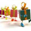Royalty-Free Stock Photo: Gifts 3d illustraton