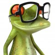 Frog 3d animated — Stock fotografie