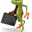 Frog 3d animated — Stock Photo #4371224