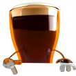 Beer 3d animation - Stock fotografie