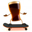 Beer 3d animation - Zdjcie stockowe