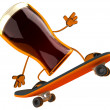 Foto Stock: Beer 3d animation