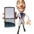 Stock Photo: Doctor 3d illustration