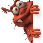 Virus 3d animation — Stock Photo