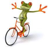 好玩的青蛙 — 图库照片