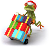 Frog 3d animated — Stock Photo