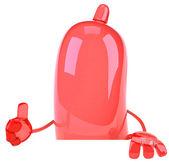 Condom 3d illustration — Stock Photo