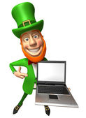 Leprechaun 3d illustration — Стоковое фото