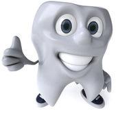 Ilustração 3d do dente — Fotografia Stock