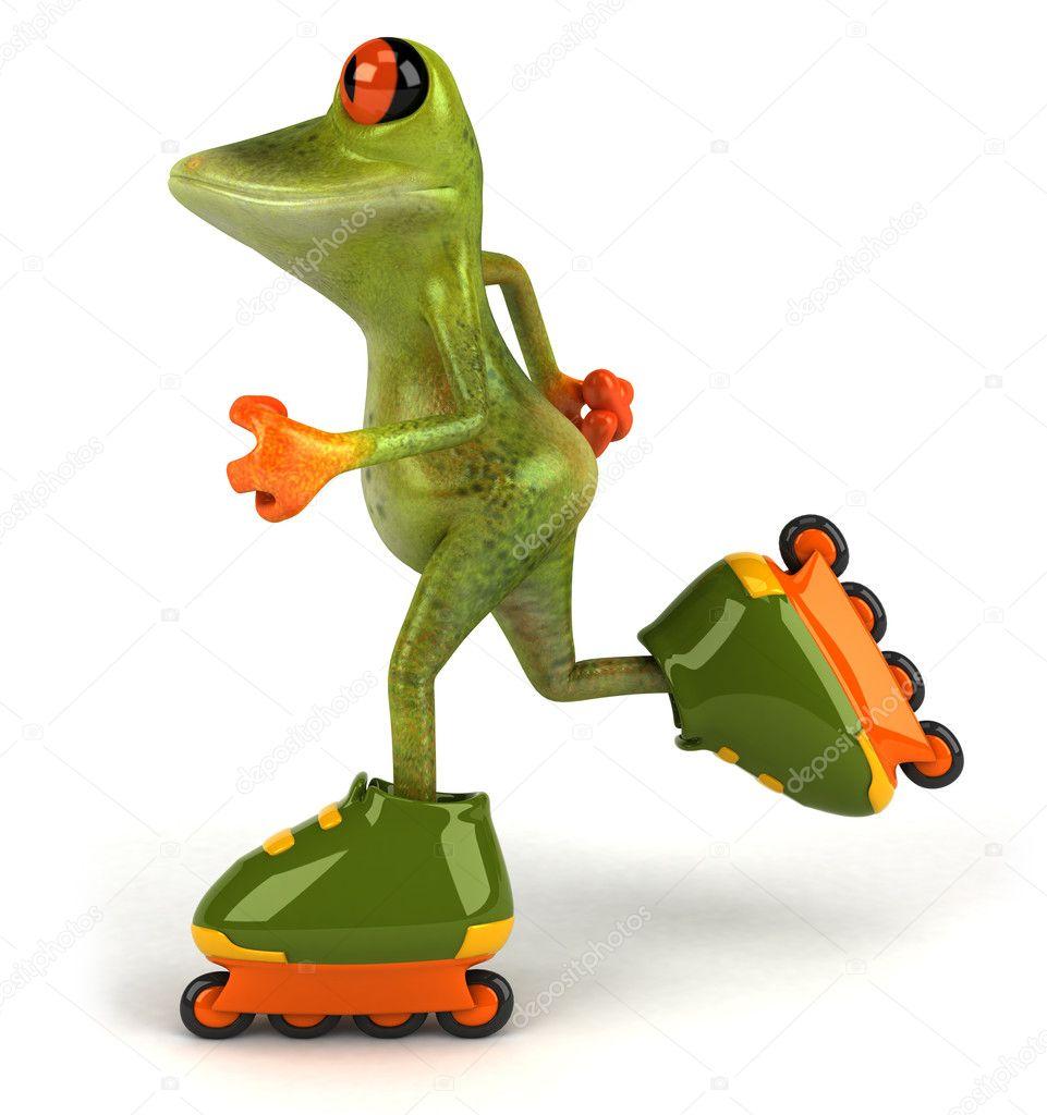 青蛙3d 动画