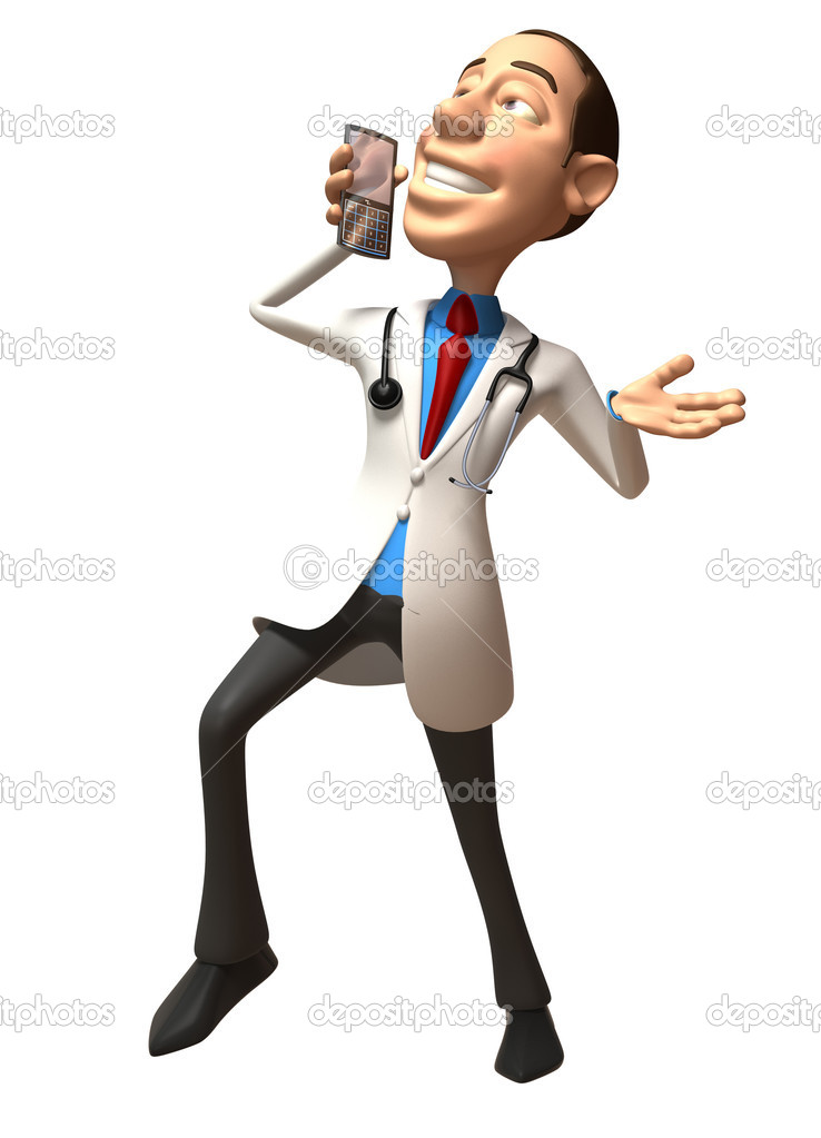 Doctor 3d illustration — Stock Photo #4373425