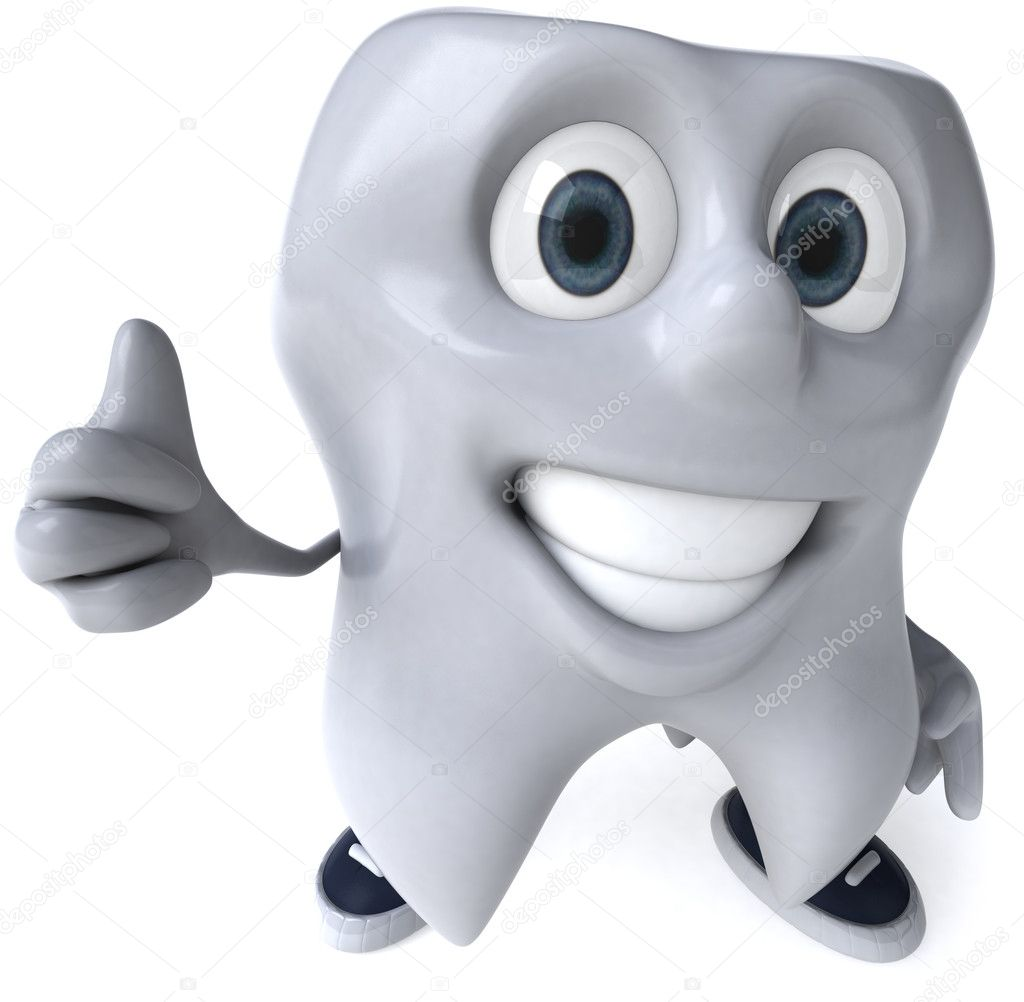 Tooth  3d illustration — Stock Photo #4378213