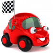 Stock Photo: Car 3d illustration