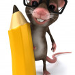 Fun mouse - Stock Photo
