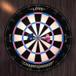 Dartboard - Foto Stock