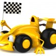 Car sports 3d illustration — Stock Photo