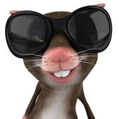 Mouse 3d illustration — Stock Photo