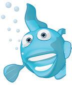 Fisk 3d illustration — Stockfoto