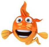 Fish 3d illustration — Stock Photo