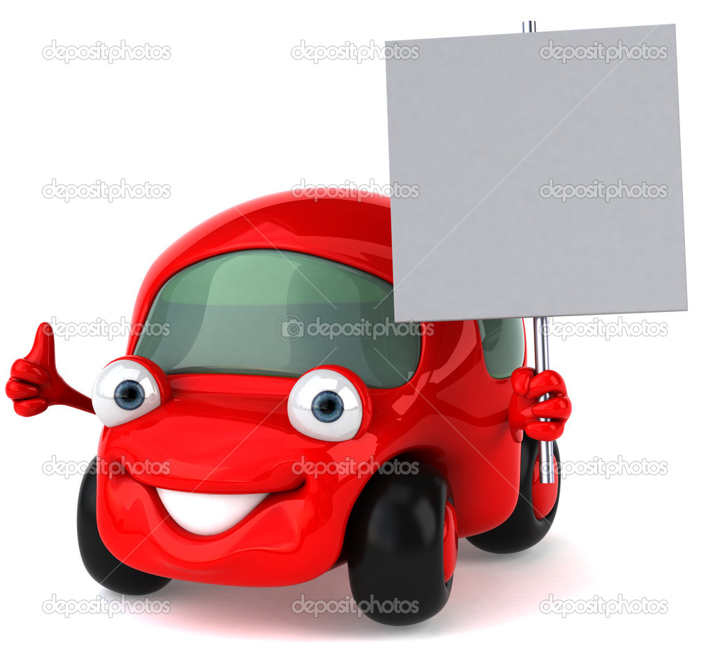 Car 3d illustration — Stock Photo #4383185