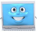 Fun computer — Stock Photo