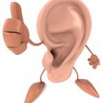 Ear 3d illustration — Stock Photo #4392544
