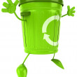 Trash can — Stock Photo