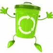 Trash can — Stock Photo #4393034