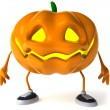 Pumpkin 3d halloween illustration — Stock Photo #4393060