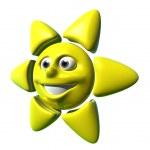 Happy sun — Stock Photo
