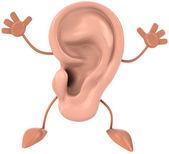 Ear 3d illustration — Stock Photo