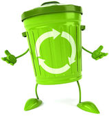 Trash can — Stockfoto
